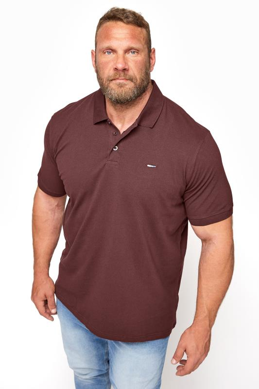 BadRhino Burgundy Essential Polo Shirt_M.jpg