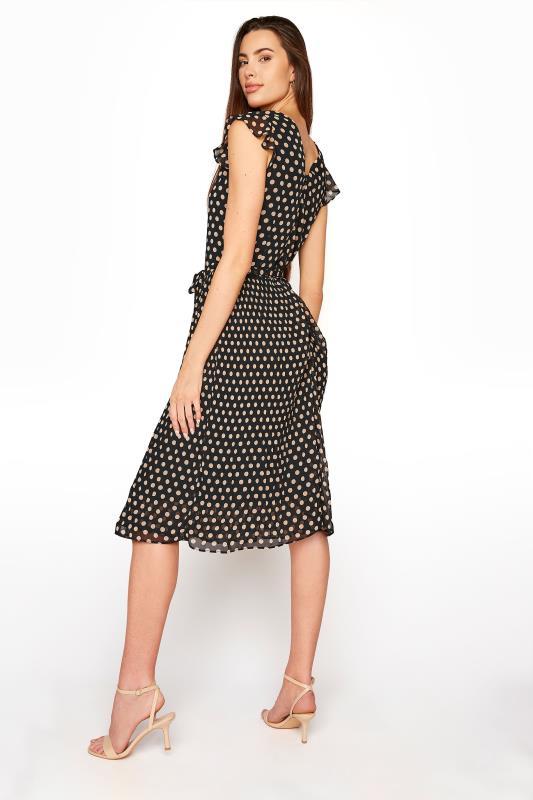 LTS Black Polka Dot Chiffon Dress_C.jpg