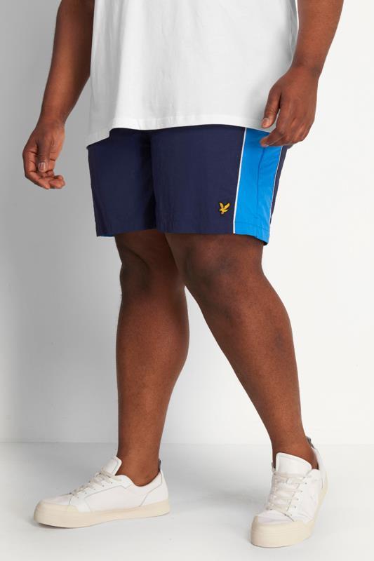 LYLE & SCOTT Navy Swim Shorts