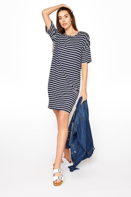 LTS Navy Stripe T-Shirt Dress_B.jpg
