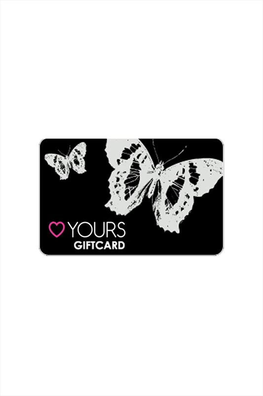 Plus Size Gift Cards Butterfly Gift Card