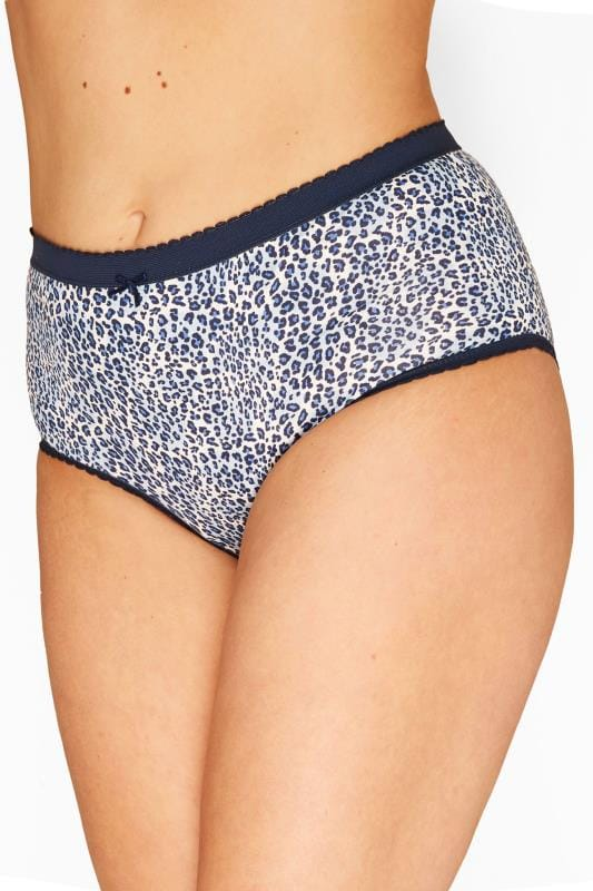 5 PACK Assorted Animal Print Full Briefs