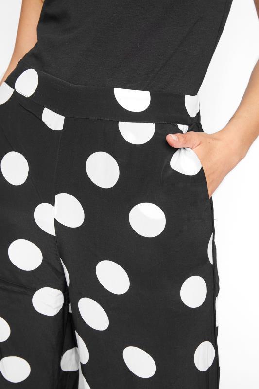 Black & White Polka Dot Print Culottes_C.jpg