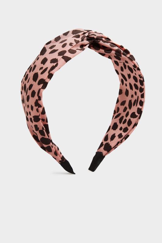 Pink Animal Print Twist Headband_F.jpg