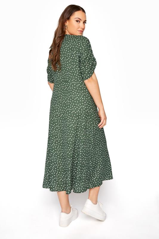 LIMITED COLLECTION Sage Ditsy Maxi Tea Dress_C.jpg