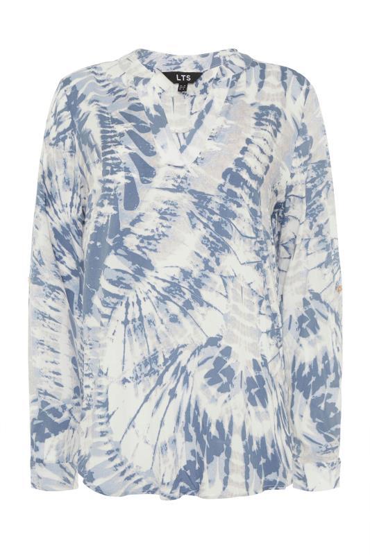 LTS Blue Tie Dye Overhead Shirt_F.jpg