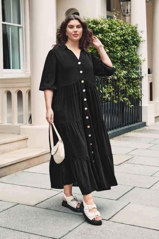 THE LIMITED EDIT Black Tiered Dress_L1.jpg