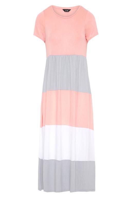LTS Pink Colour Block Dress_F.jpg