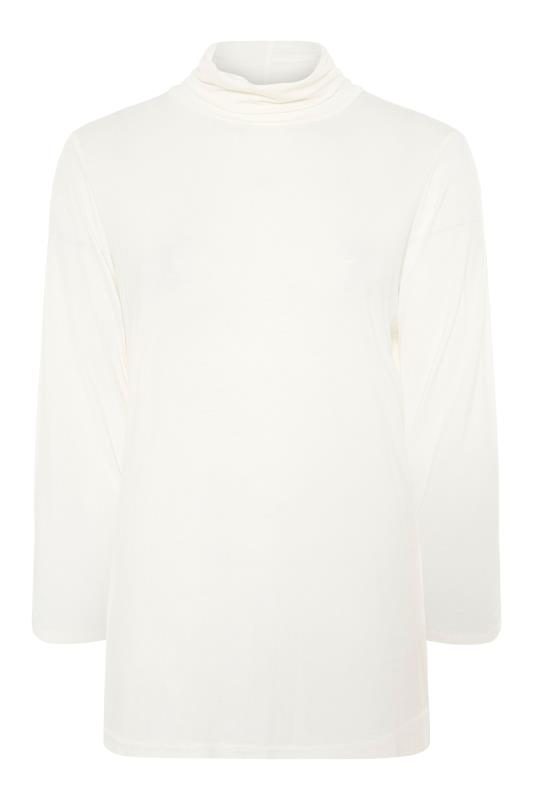 LIMITED COLLECTION White Turtle Neck Top_F.jpg