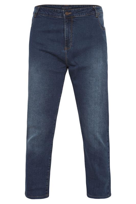 Men's  BadRhino Mid-Blue Stretch Jeans