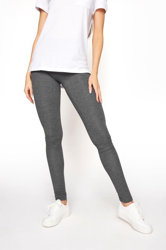 LTS SUSTAINABLE Grey Marl Recycled 'Lenzing' Viscose Leggings