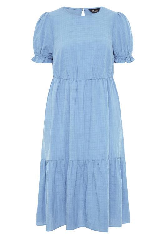 THE LIMITED EDIT Blue Smock Midi Dress_F.jpg