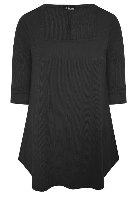 LIMITED COLLECTION Black Rib Swing Top_F.jpg