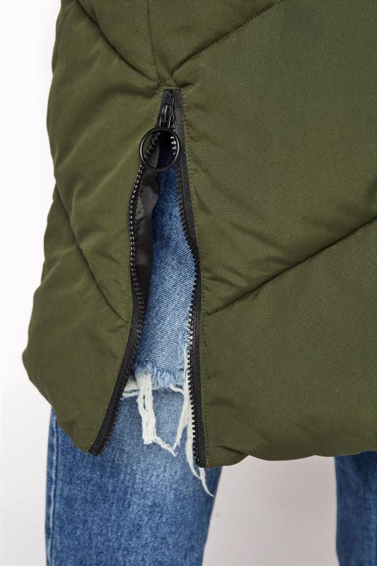 Khaki Hooded Puffer Maxi Coat_G.jpg