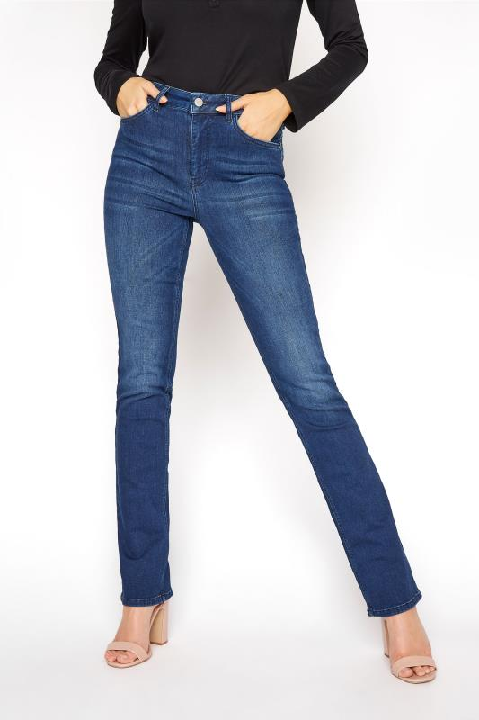 Indigo Blue Ultra Stretch Bootcut Jeans_B.jpg