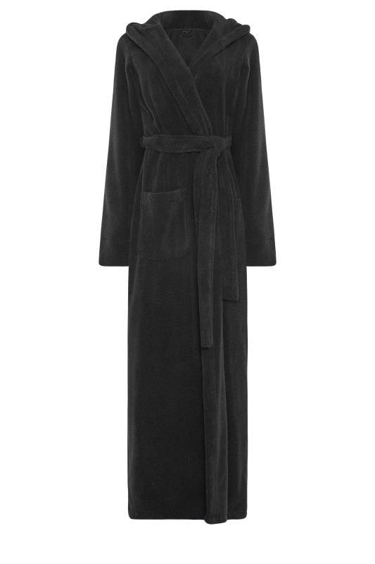 LTS Black Cotton Maxi Robe_F.jpg