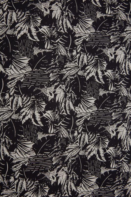 Black Leaf Print T-Shirt_S.jpg