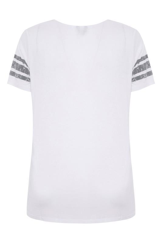White Printed V-Neck T-Shirt_BK.jpg