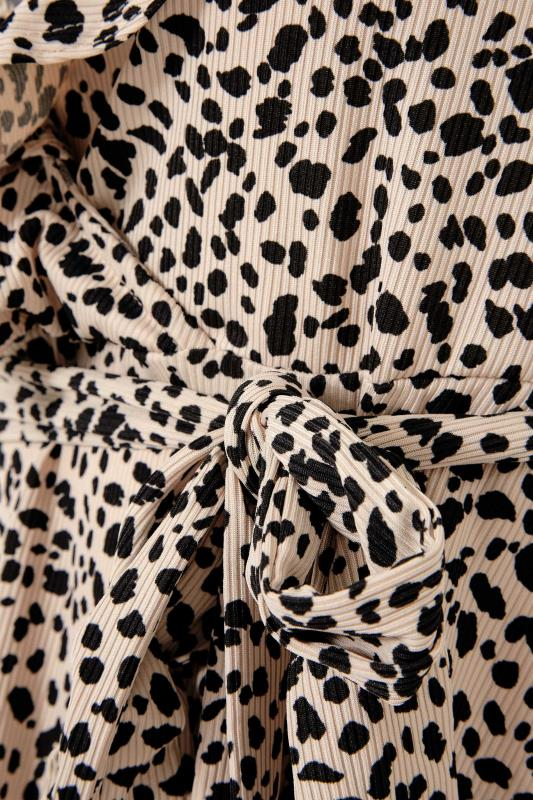 YOURS LONDON Natural Animal Ruffle Wrap Top_S.jpg