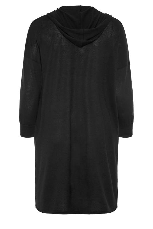 Black Hooded Knitted Cardigan_BK.jpg