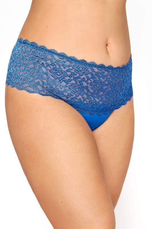 Blue Hi Shine Lace Brazilian Briefs_A.jpg