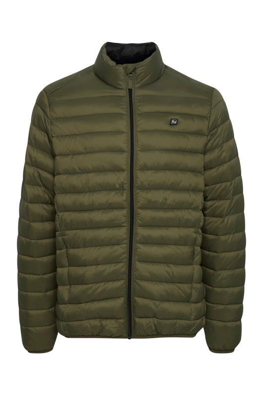 Plus Size  BLEND Green Padded Jacket