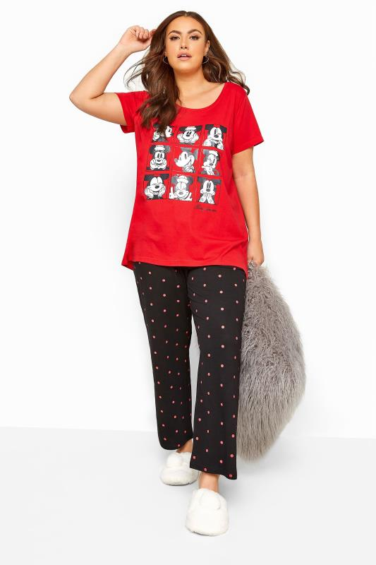 Red Disney Mickey & Minnie Pyjama Set