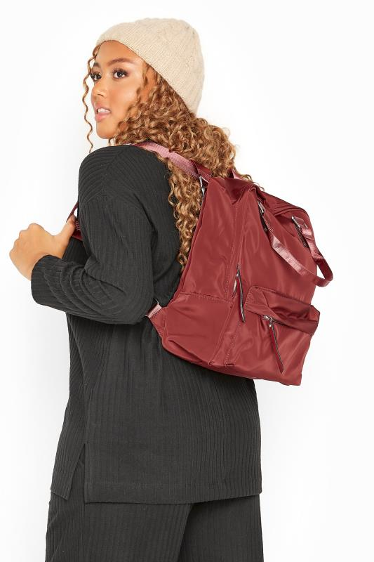 Bags & Purses Red Backpack