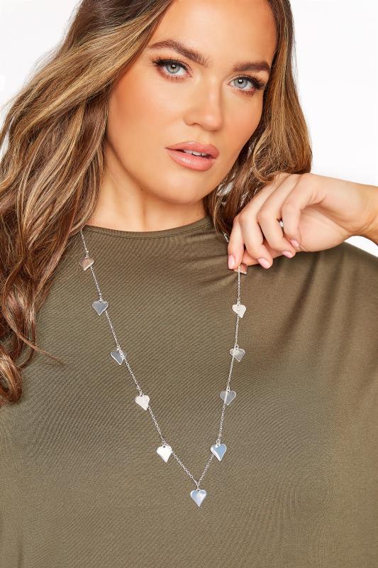 Silver Mini Heart Necklace