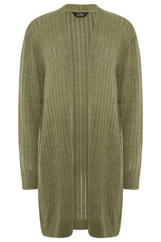 LTS Khaki Knitted Cardigan_F.jpg