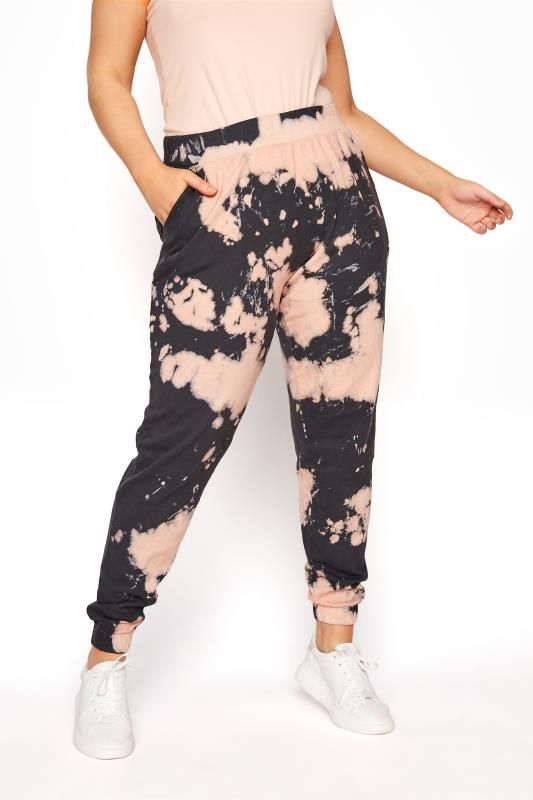 Pink Tie Dye Co-ord Joggers