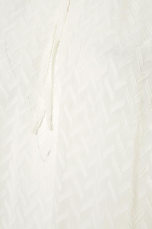Cream Tie Neck Chiffon Blouse_S.jpg