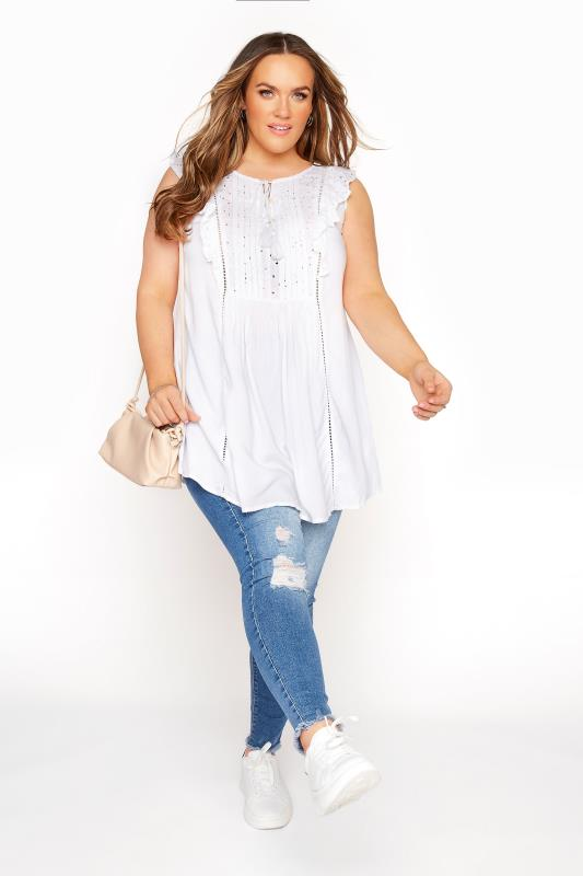 White Broderie Anglaise Frill Top_B.jpg
