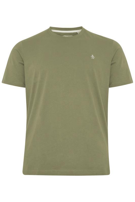 Großen Größen  PENGUIN MUNSINGWEAR Sage Green Crew Neck T-Shirt