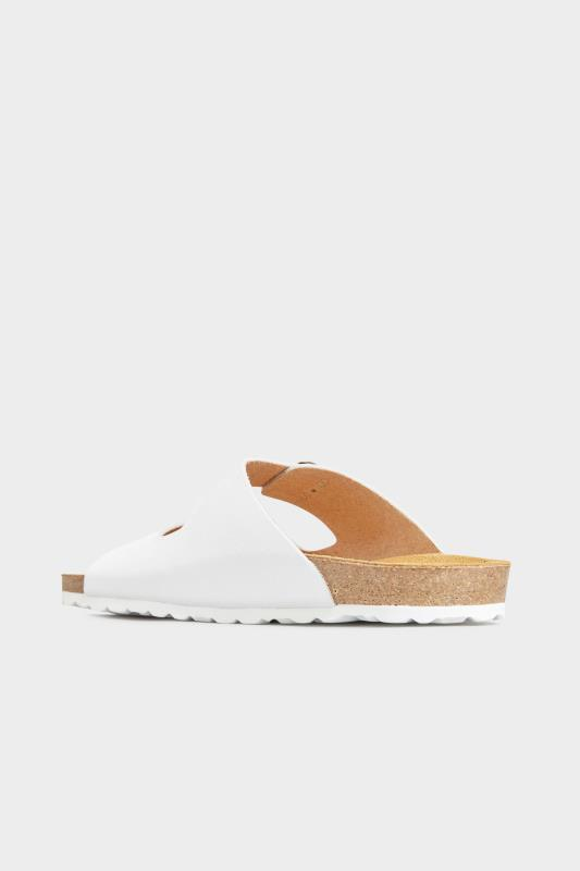 White Leather Two Buckle Footbed Sandals_E.jpg