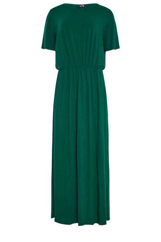 LTS Forest Green Pocket Midaxi Dress_F.jpg
