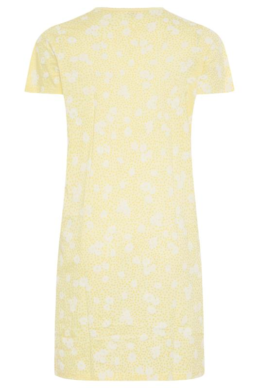 Yellow Daisy Placket Nightdress_BK.jpg