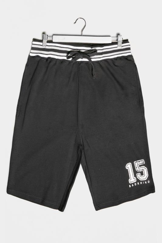 BadRhino Black 15 Jogger Shorts