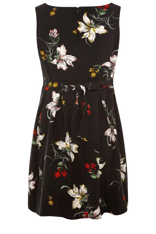 Black Floral Print Skater Dress_BK.jpg