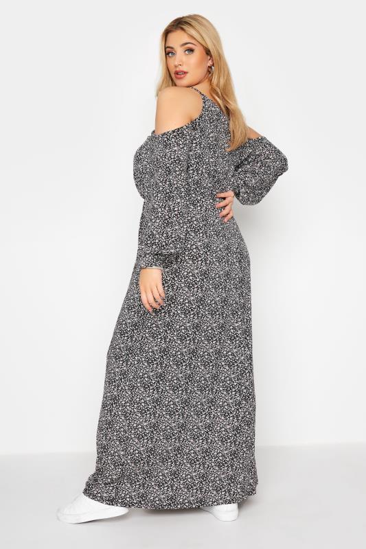 Black Floral Cold Shoulder Maxi Dress_C.jpg