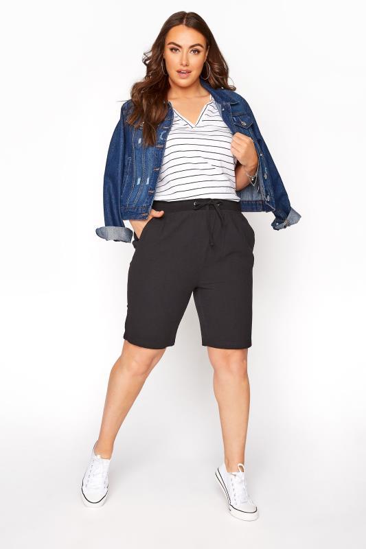 Black Cool Cotton Shorts_B.jpg