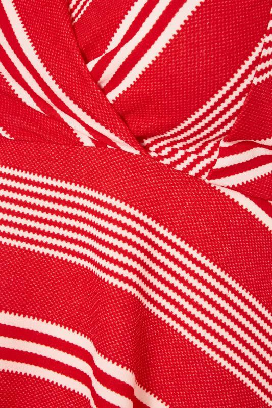 Red Stripe Wrap Skater Dress_S.jpg