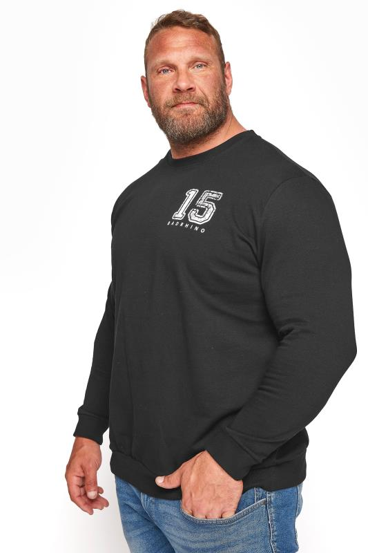 Men's  BadRhino Black Division 15 Sweatshirt