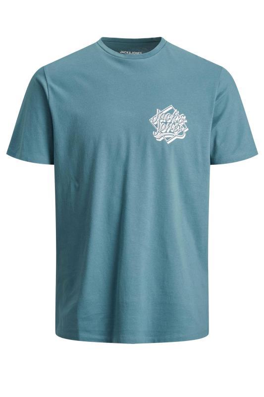 Men's  JACK & JONES Light Blue T-Shirt