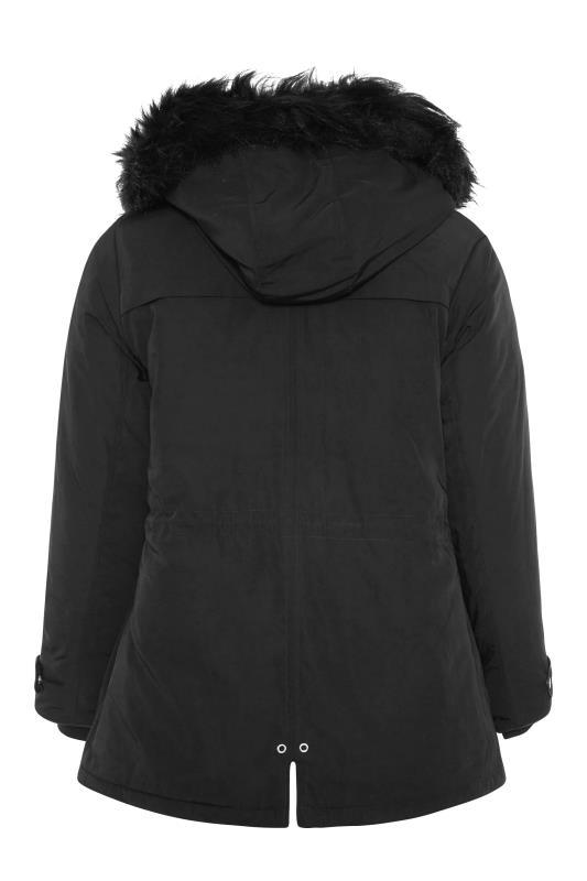 Black Fur Trim Hooded Parka_BK.jpg