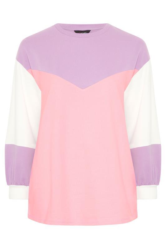 Purple Colour Block Sweatshirt_F.jpg
