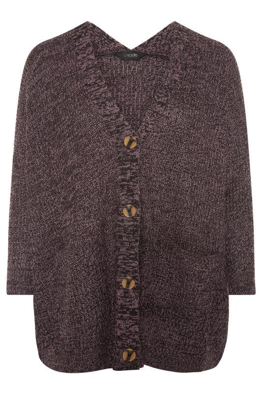 Purple Button Knitted Cardigan_F.jpg