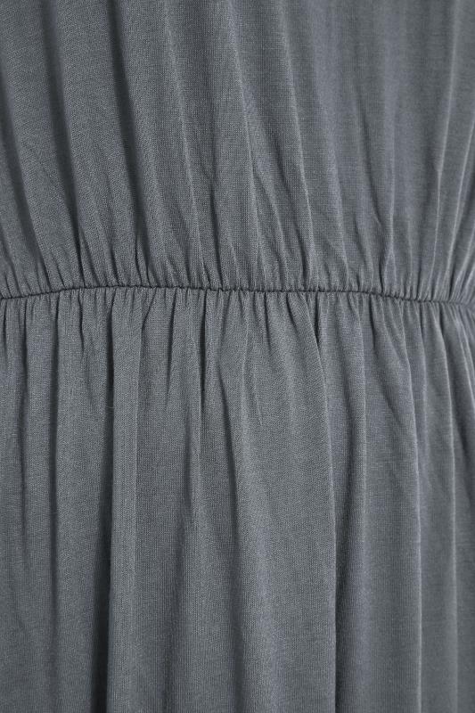 YOURS LONDON Grey Pocket Maxi Dress_S.jpg