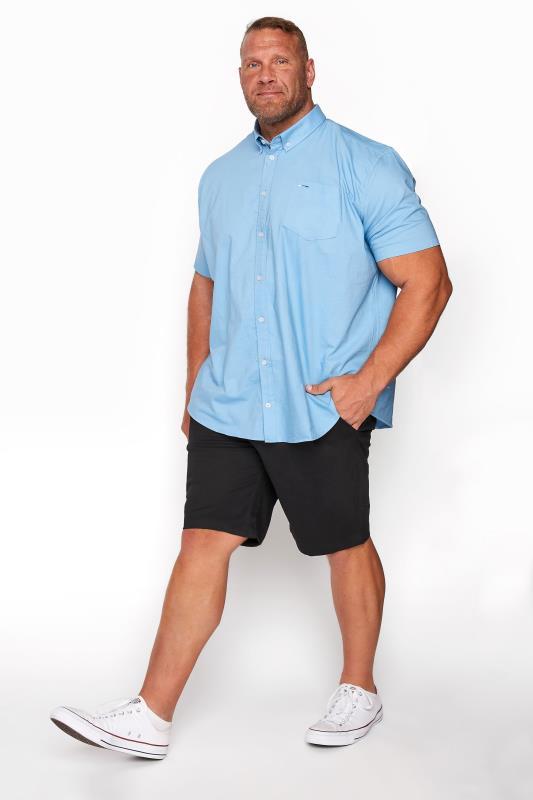 BadRhino Black Stretch Chino Shorts_A.jpg