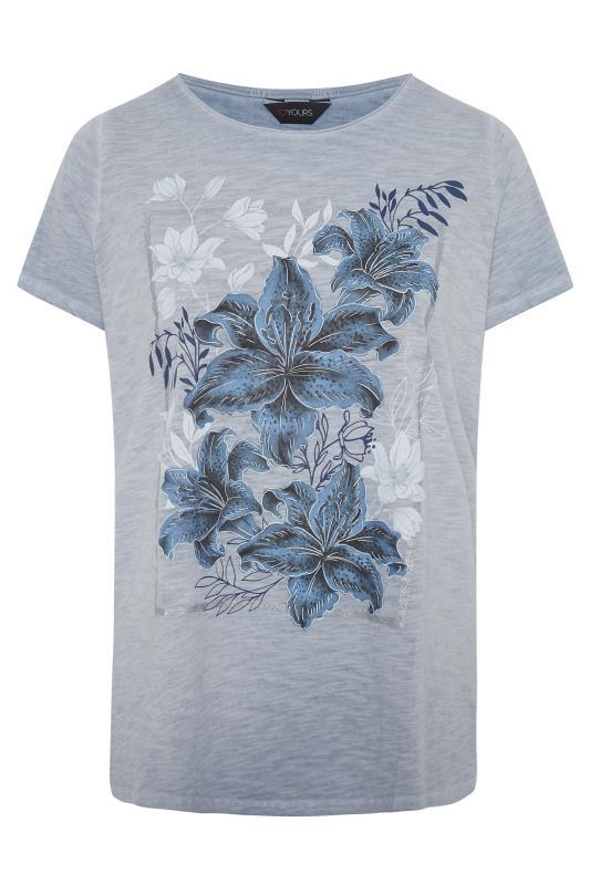 Blue Floral Graphic T-Shirt_F.jpg
